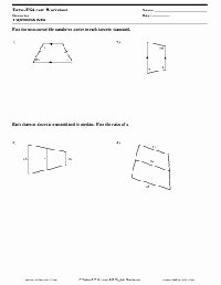 Geometry Worksheet Kites and Trapezoids Luxury 16 Best Of Letter Recognition assessment Worksheet