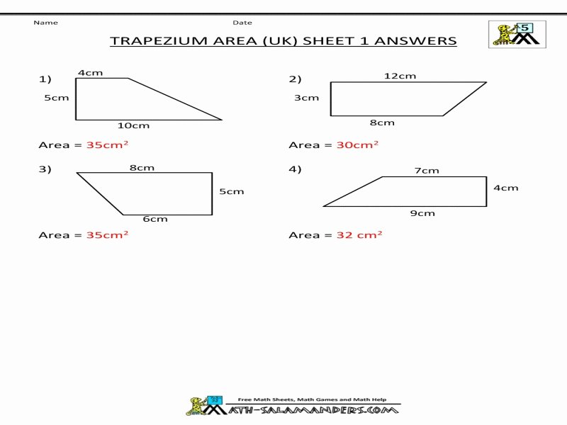 Geometry Worksheet Kites and Trapezoids New Geometry Worksheet Kites and Trapezoids Answers Free