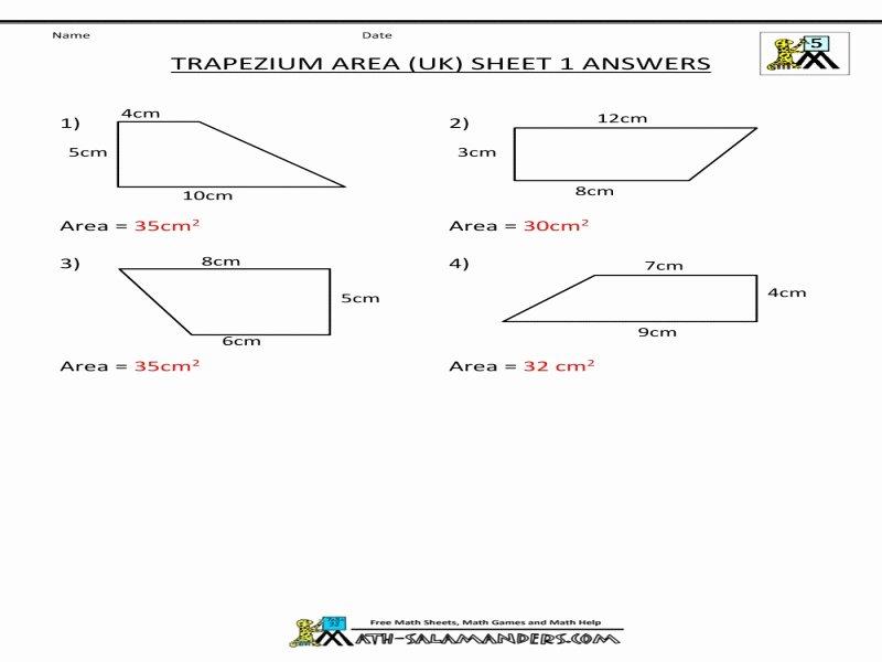 Geometry Worksheet Kites and Trapezoids New Geometry Worksheet Kites and Trapezoids Answers Free