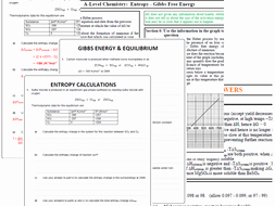 Gibbs Free Energy Worksheet Beautiful Gibbs Free Energy Calculations by Polarity24