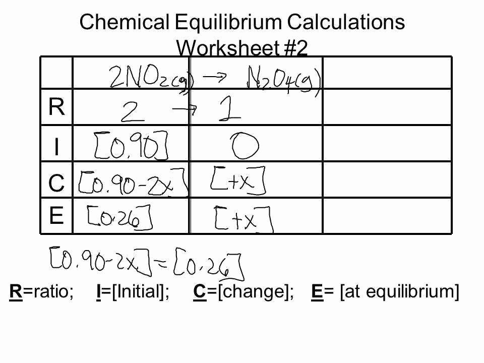 Gibbs Free Energy Worksheet Best Of Chemical Equilibrium Worksheet