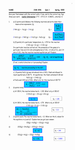 Gibbs Free Energy Worksheet New thermochemistry Practice Problems