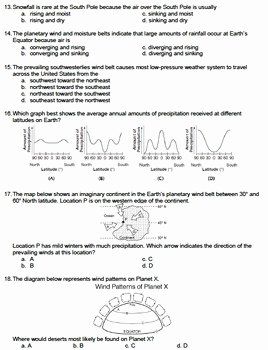Global Wind Patterns Worksheet Awesome Worksheet Global Wind Patterns Editable
