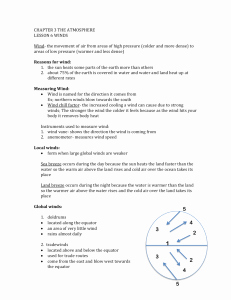 Global Wind Patterns Worksheet Elegant Global Wind Patterns Worksheet