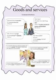 Goods and Services Worksheet Luxury English Worksheets Goods and Services 1