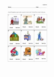 Goods and Services Worksheet Luxury English Worksheets Goods and Services