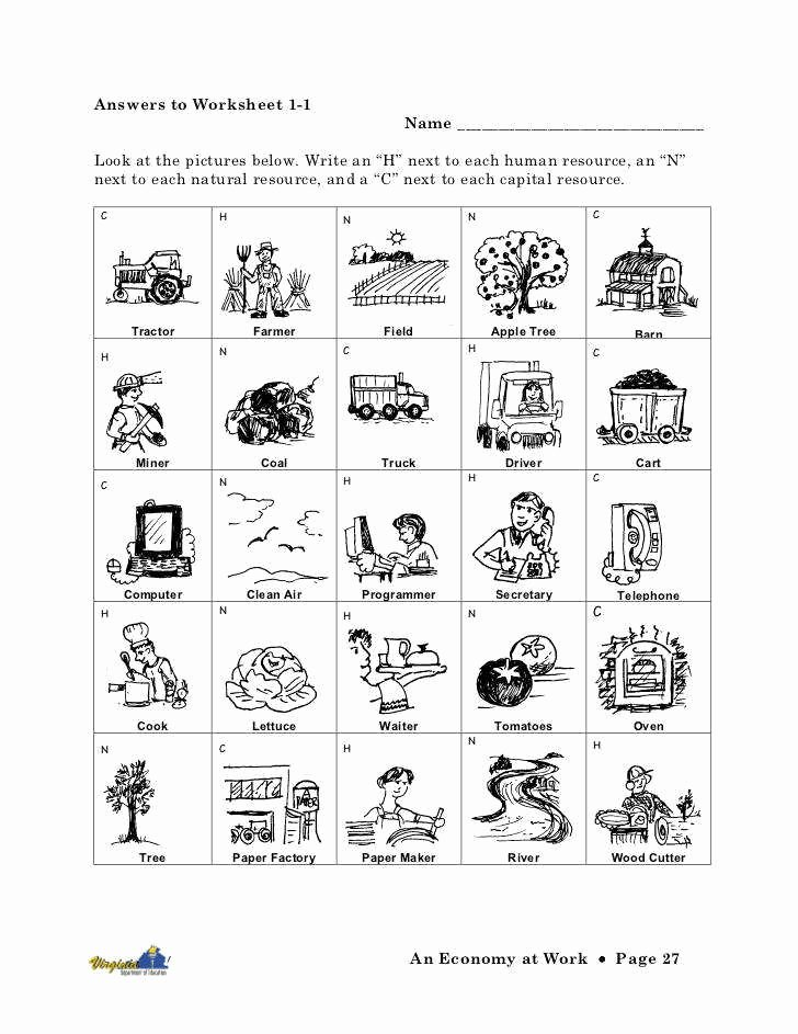 Goods and Services Worksheet Luxury Goods and Services Worksheet