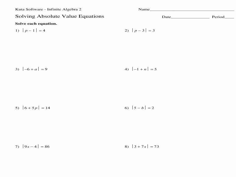 Graphing Absolute Value Functions Worksheet Unique Graphing Absolute Value Equations Worksheet