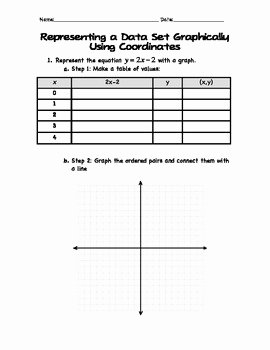 Graphing Linear Equations Practice Worksheet Beautiful Graphing Linear Equations Notes and Practice