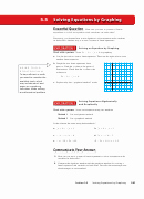 Graphing Linear Equations Worksheet Pdf Elegant Chapter 5 solving Systems Linear Equations 5 5