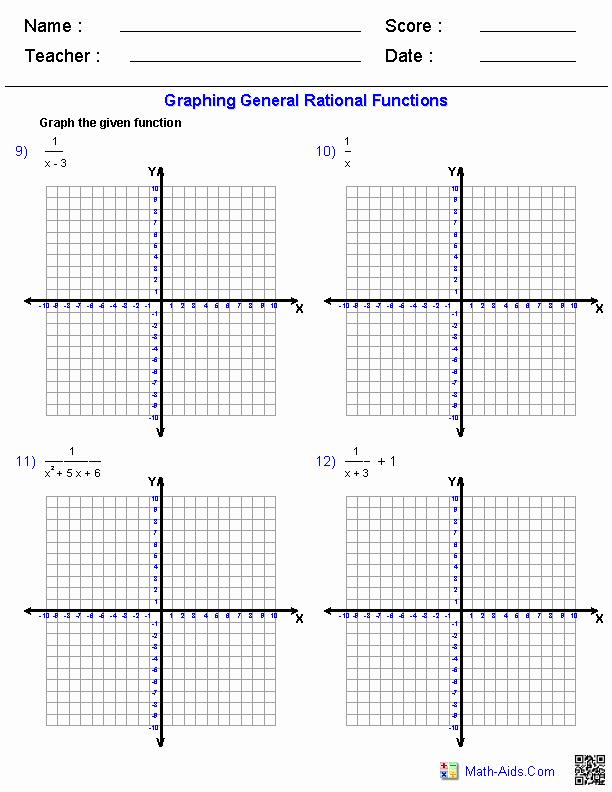 Graphing Linear Functions Worksheet Best Of Algebra 2 Worksheets
