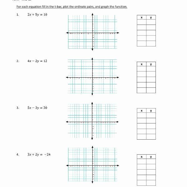 Graphing Linear Functions Worksheet New Graphing Linear Functions Worksheet