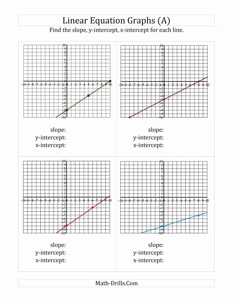 Graphing Linear Functions Worksheet Pdf Elegant Graph Linear Equations Worksheet Pdf Bittorrentsys