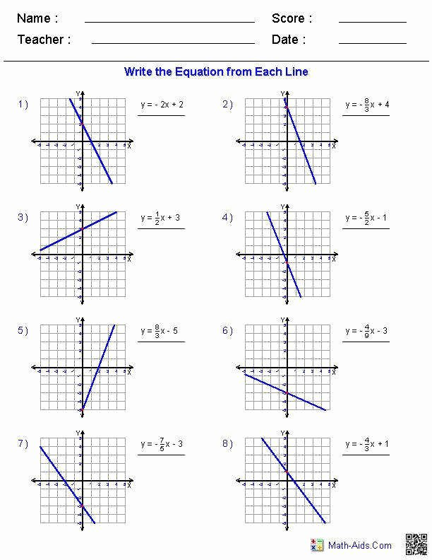 Graphing Linear Functions Worksheet Pdf Elegant Graphing Linear Functions Worksheet
