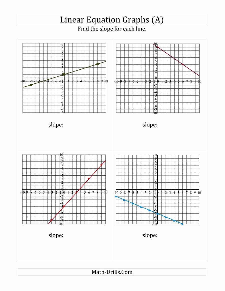 Graphing Linear Functions Worksheet Pdf Inspirational Graph Linear Equations Worksheet Pdf Consultancybittorrent