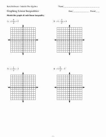 Graphing Linear Functions Worksheet Pdf New Graphing Linear Inequalities Worksheet