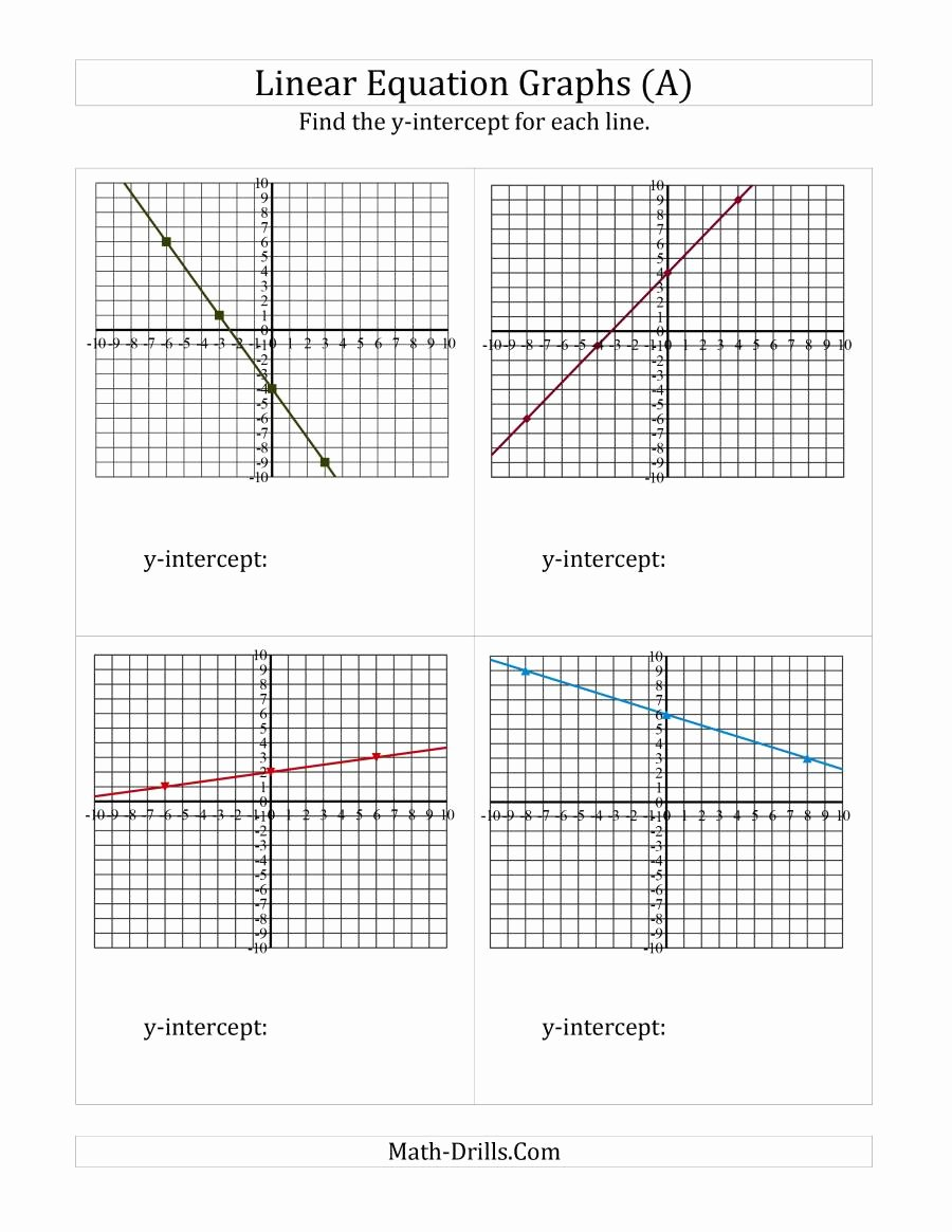 Graphing Linear Functions Worksheet Pdf Unique Graph Linear Equations Worksheet Pdf Bittorrentsys