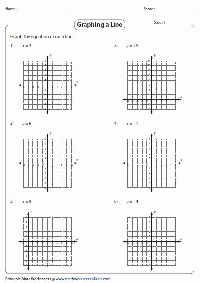 Graphing Linear Inequalities Worksheet Awesome Graphing Lines Worksheet