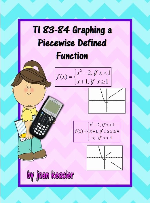 Graphing Piecewise Functions Worksheet Beautiful Graphing Piecewise Defined Functions On Ti 83 84 Plus