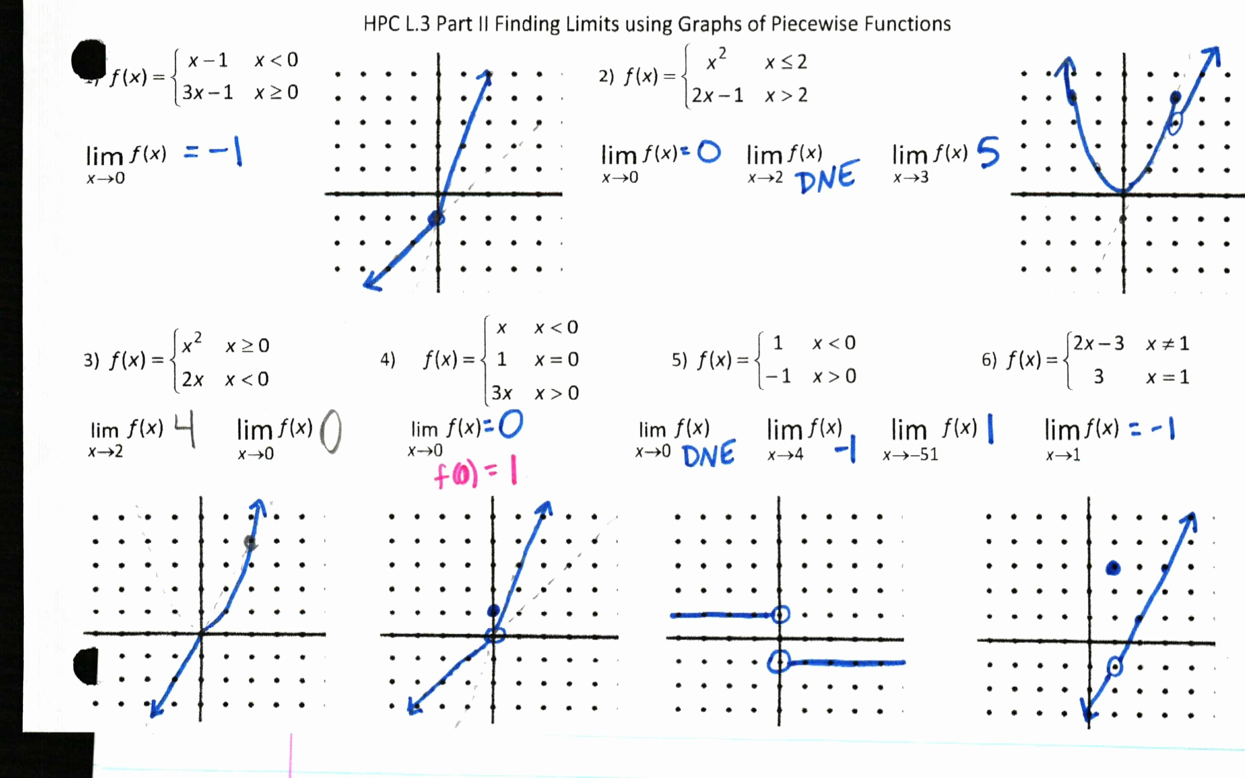 Graphing Piecewise Functions Worksheet Lovely Limits – Insert Clever Math Pun Here