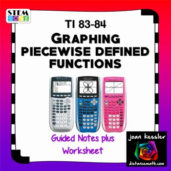 Graphing Piecewise Functions Worksheet Unique Graphing Piecewise Functions On Ti 83 84 Plus Worksheet