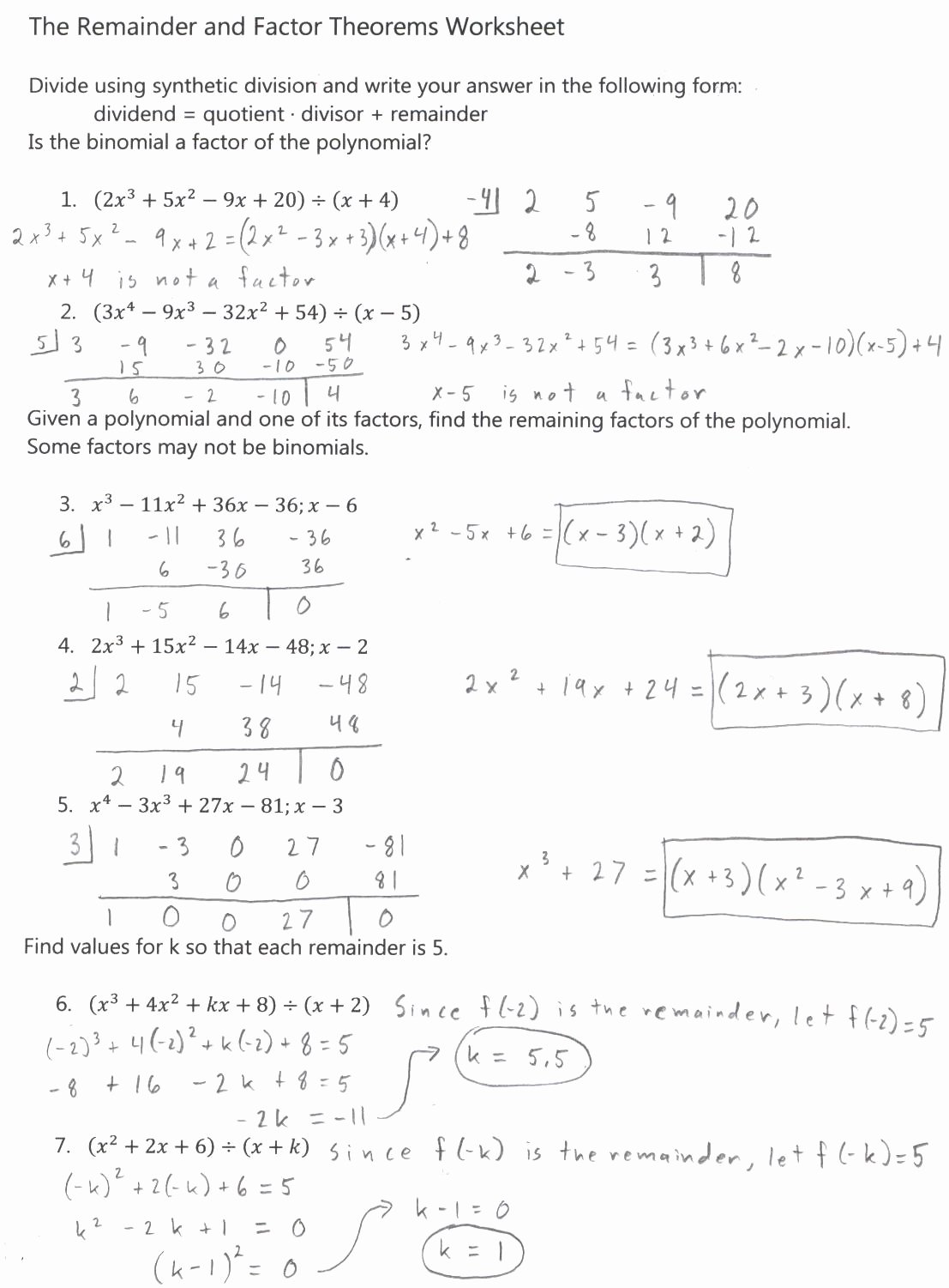 Graphing Polynomial Functions Worksheet Answers New Algebra 2
