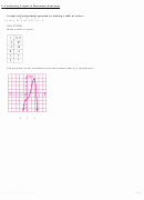 Graphing Polynomial Functions Worksheet Answers New Paring Rate Change Function Worksheet with Answers
