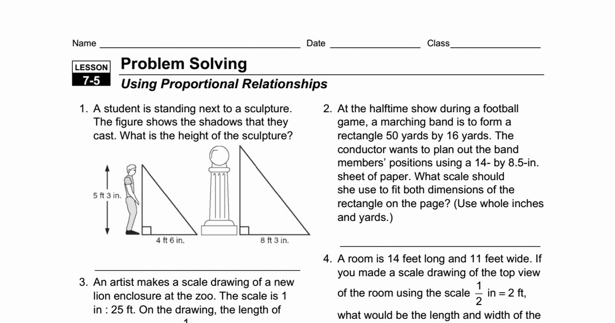Graphing Proportional Relationships Worksheet Elegant Proportional Relationship Worksheet