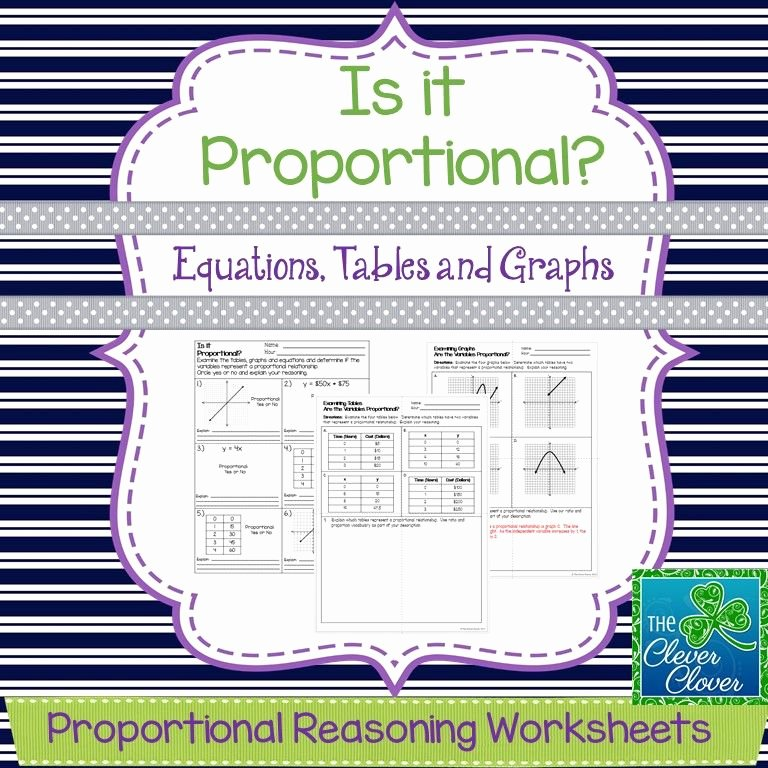 Graphing Proportional Relationships Worksheet Fresh Proportional Relationships Equations Tables and Graphs