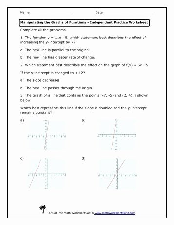Graphing Proportional Relationships Worksheet Luxury Graphs Of Proportional Relationship Independent Practice
