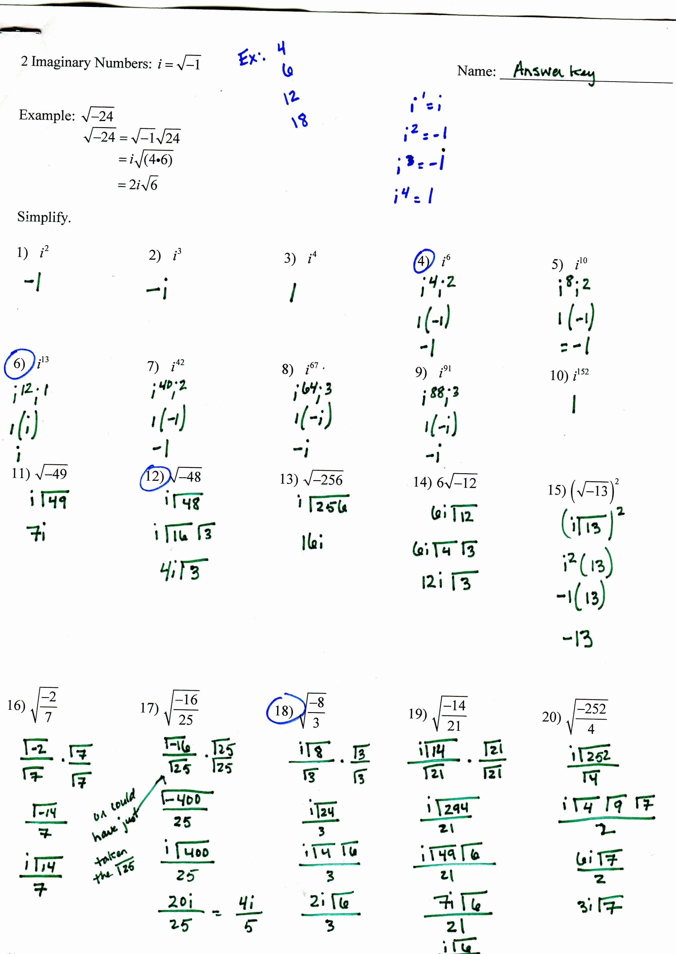 Graphing Quadratics Worksheet Answers Awesome Quadratic Functions Worksheet