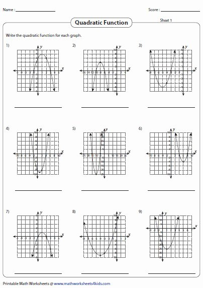 Graphing Quadratics Worksheet Answers Best Of 73 Houghton Mifflin Harcourt Algebra 2 Answer Key Aias