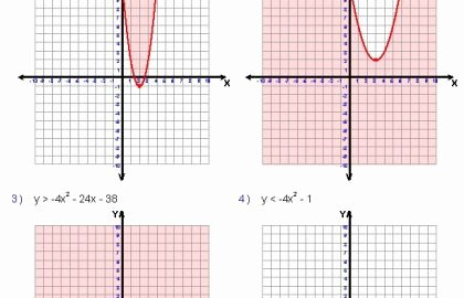 Graphing Quadratics Worksheet Answers Inspirational 24 Graphing Quadratic Functions Worksheet Answers Algebra