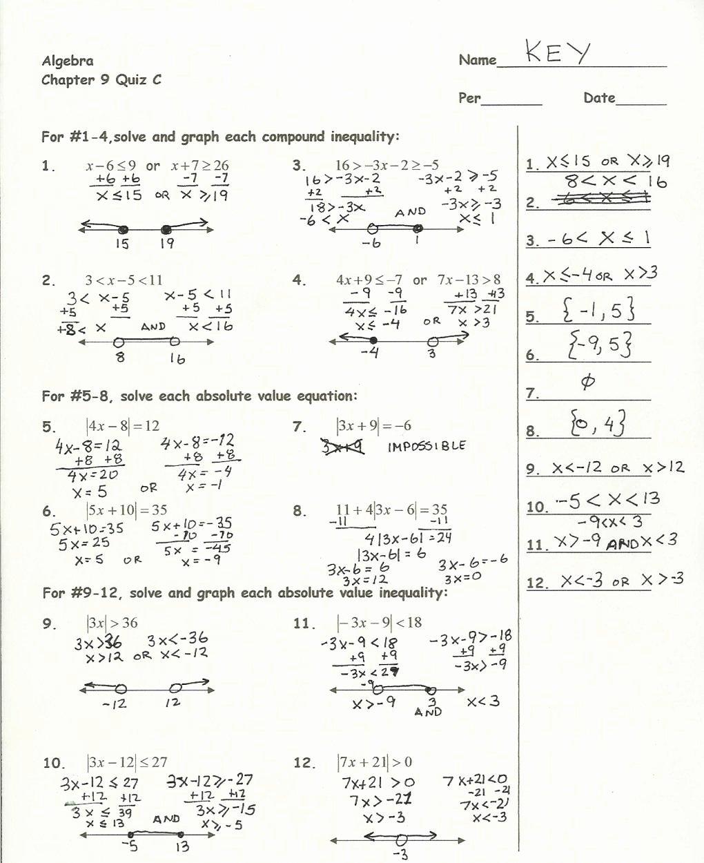 Graphing Quadratics Worksheet Answers Inspirational Graphing Parabolas Worksheet Algebra 1