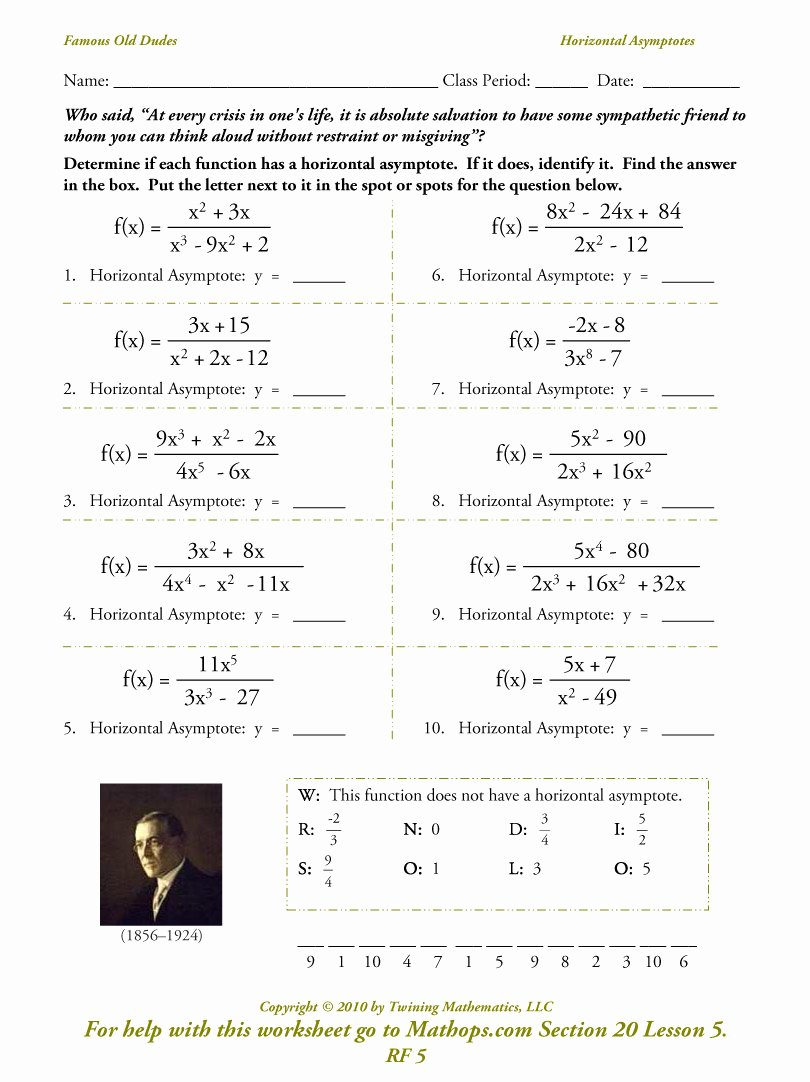 Graphing Rational Functions Worksheet Awesome Graphing Rational Functions with asymptotes Worksheet