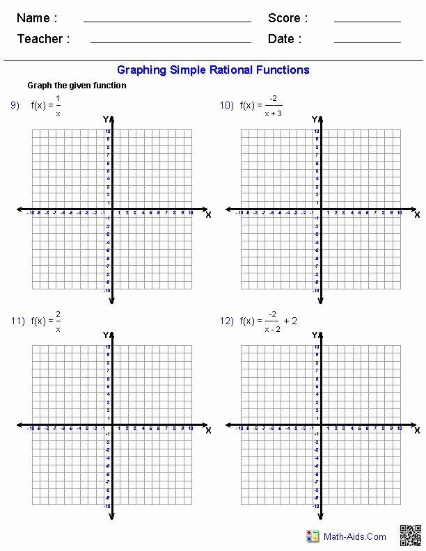 Graphing Rational Functions Worksheet Elegant Graphing Logarithmic Functions Worksheet