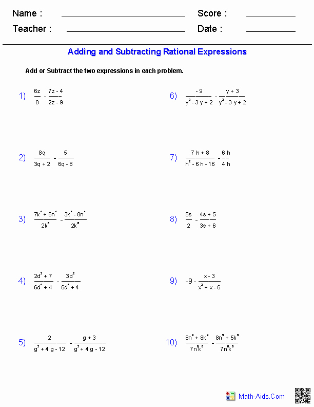 Graphing Rational Functions Worksheet Elegant Graphing Rational Functions Worksheet