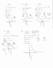 Graphing Rational Functions Worksheet New Worksheet Rational Functions 1 Answers Algebraz Trig