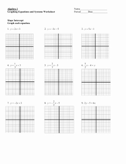 Graphing Systems Of Equations Worksheet Lovely Relations and Functions