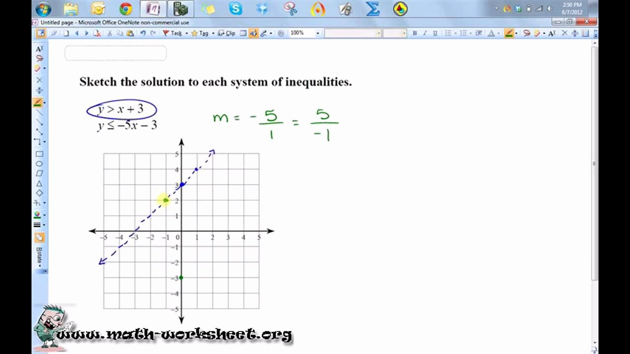 Graphing Systems Of Inequalities Worksheet Unique Systems Of Inequalities Worksheet Funresearcher