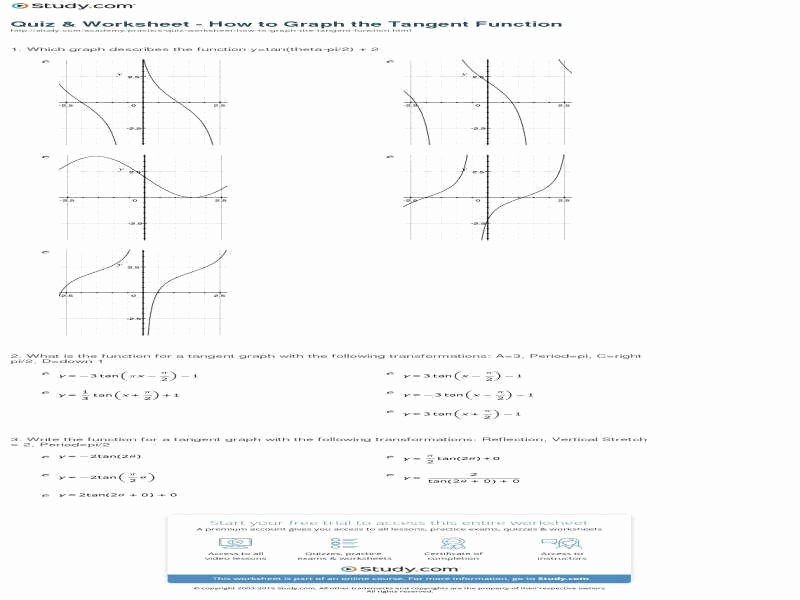 Graphing Trig Functions Worksheet Beautiful Graphing Trig Functions Worksheet