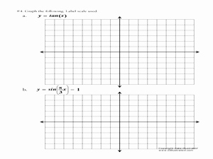 Graphing Trig Functions Worksheet Inspirational Graphing Trig Functions 11th 12th Grade Worksheet