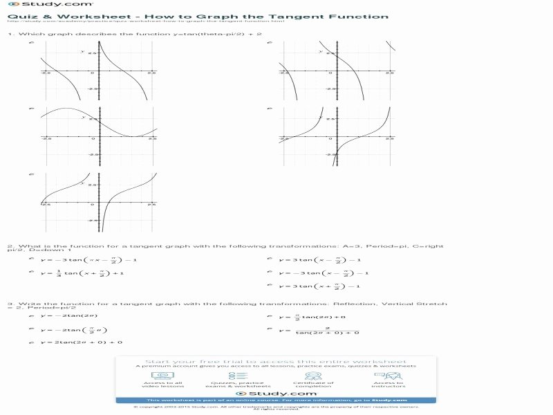 Graphing Trig Functions Worksheet Luxury Graphing Trig Functions Worksheet Free Printable Worksheets