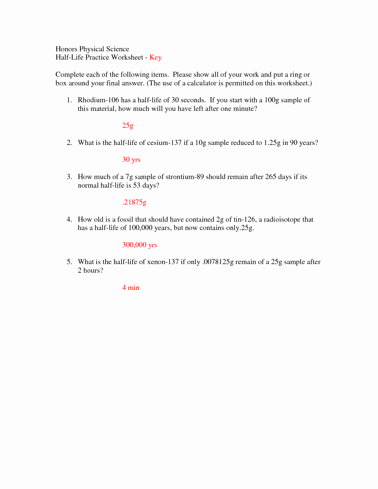 Half Life Worksheet Answers Best Of 9 Best Of Graphing Practice Worksheets Finding