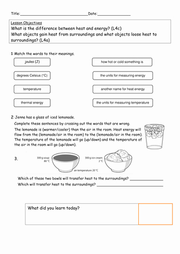 Heat and Temperature Worksheet Elegant Explore Science Worksheets 8i Heat Transfer by Kitty