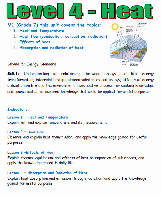 Heat and Temperature Worksheet Fresh Heat Energy Plete Course by Teacher Rambo