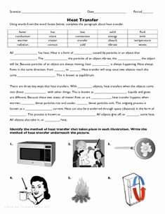 Heat Transfer Worksheet Answer Key Awesome Bill Nye Heat Video Questions Bill Nye