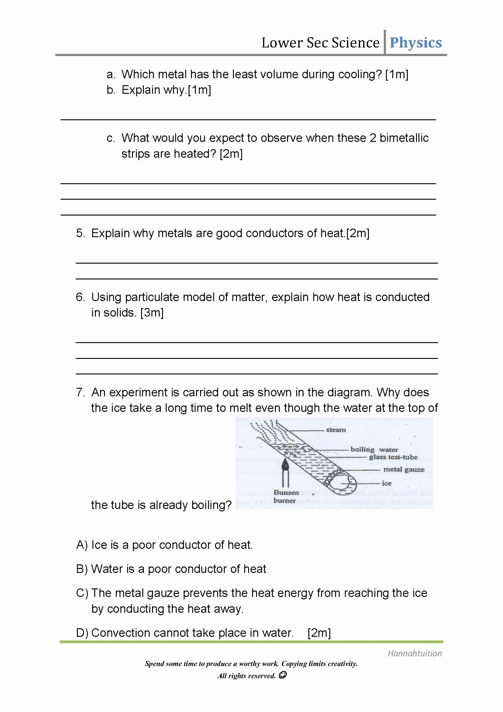 Heat Transfer Worksheet Answers New Methods Of Heat Transfer Answers Convection Heat Transfer