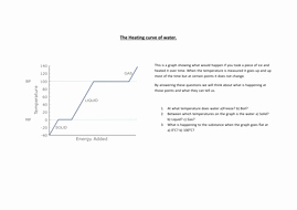 Heating and Cooling Curves Worksheet Awesome Graphs and Heating Cooling Curves Worksheet by