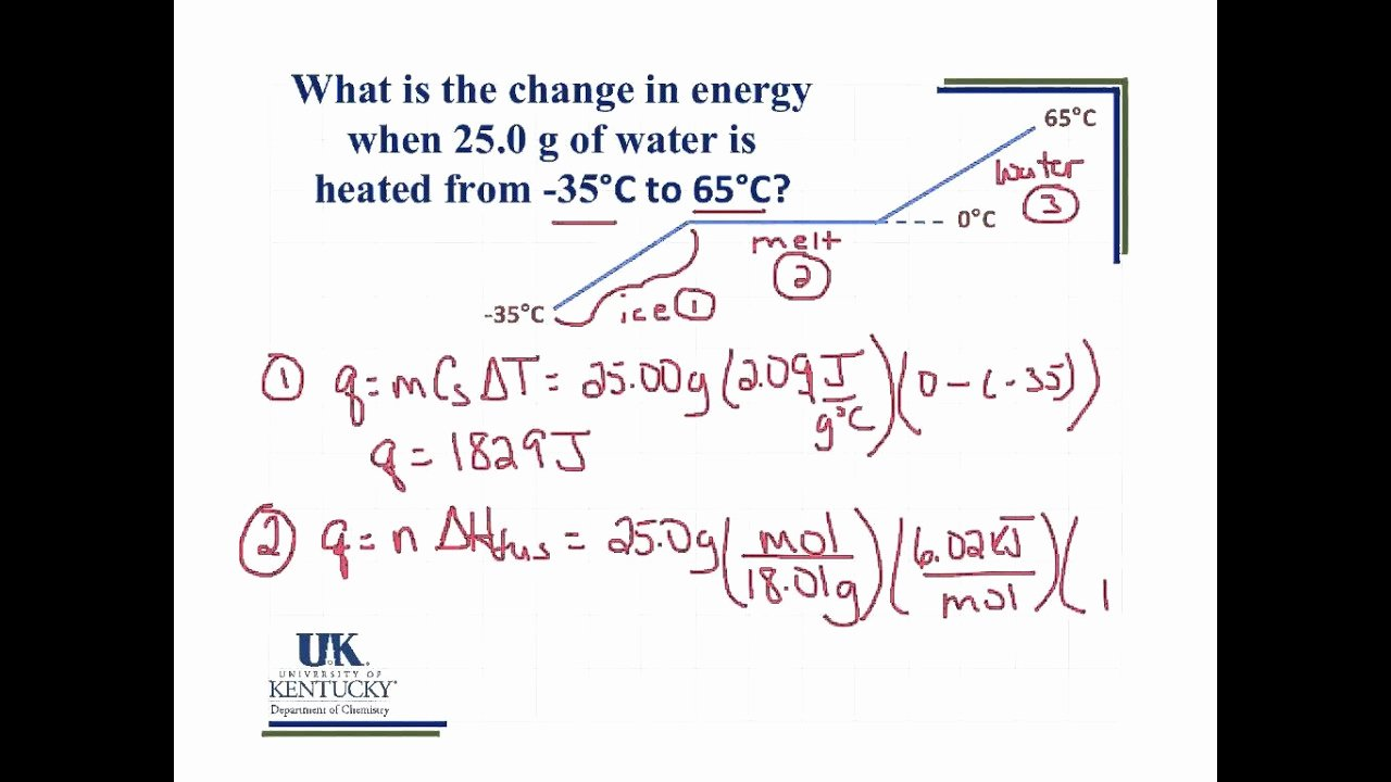 Heating Curve Worksheet Answers Unique Heating Curve Calculation